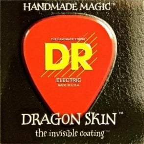 DR Handmade Dragon Skin Coated Electric Guitar Strings 9-42 Light