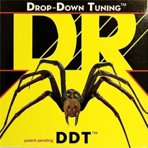 DR Handmade Drop Down Tuning 5-String Bass Guitar Strings 55-135