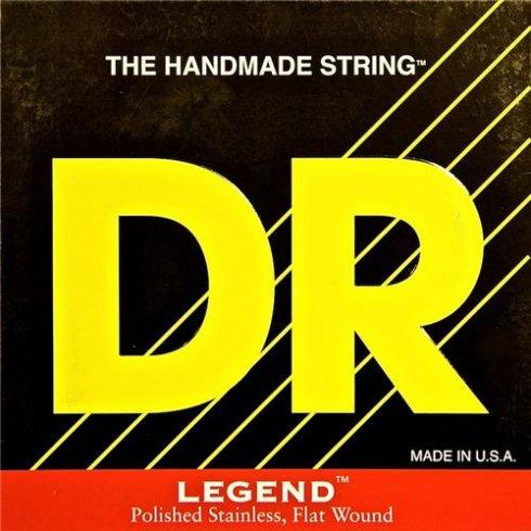 DR Handmade Legend Flatwound Electric Guitar Strings 13-54