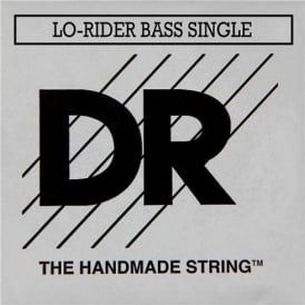 DR Handmade Lo-Rider Nickel Roundwound .105 Long Scale Bass Single String