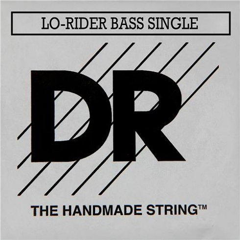 DR Handmade Lo-Rider Roundwound .065 Long Scale Bass Single String