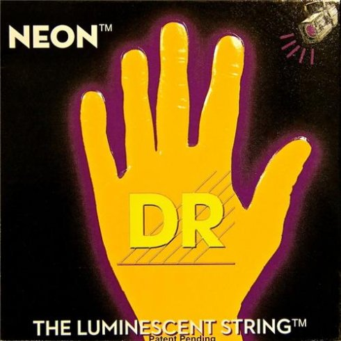DR Handmade Neon HiDef Orange Electric Guitar Strings 09-42