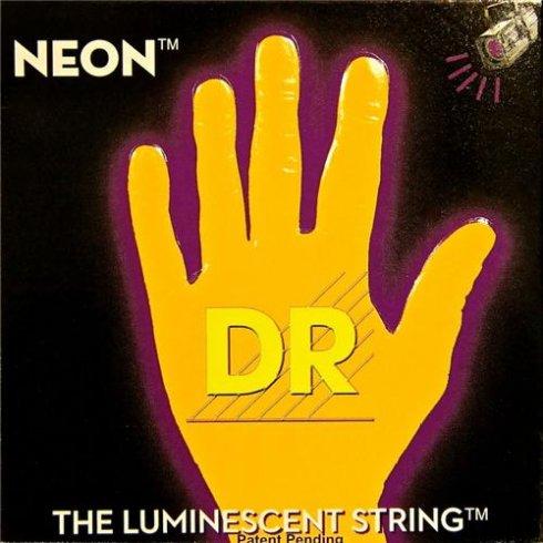 DR Handmade Neon HiDef Orange Electric Guitar Strings 10-46