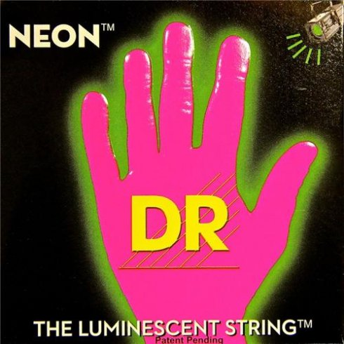 DR Handmade Neon HiDef Pink Electric Guitar Strings 11-50