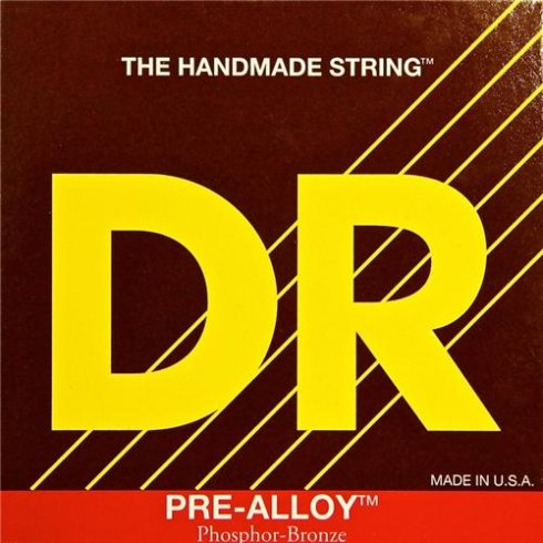 DR Handmade Pre-Alloy Phosphor Bronze Acoustic Guitar Strings 10-48