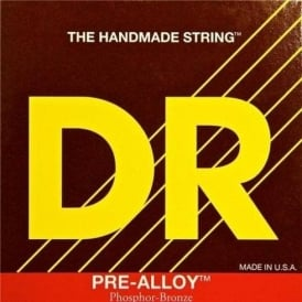 DR Handmade Pre-Alloy Phosphor Bronze Acoustic Guitar Strings 10-48