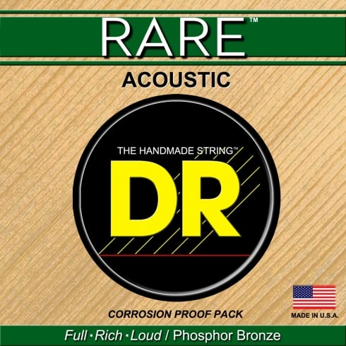 DR Handmade Rare Bronze 12-56 Acoustic Guitar Strings RPBG-12