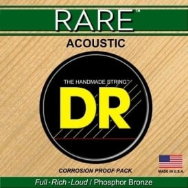 DR Handmade Rare Bronze 12-56 Acoustic Guitar Strings RPBG-12