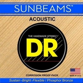 DR Handmade Sunbeam Phosphor Bronze Acoustic Guitar Strings 13-56