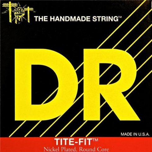 DR Handmade Tite Fit Nickel Plated 7-String 10-56 Medium Electric Guitar Strings