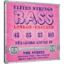 Elites DBE Series 45-105 Stainless Steel Double Ball End Bass Strings