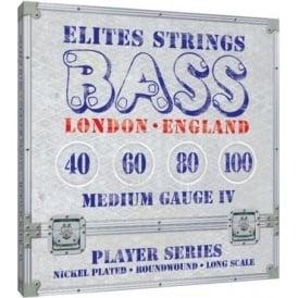 Elites Player Series 40-100 Nickel Wound Bass Strings