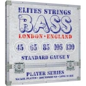 Elites Player Series 45-130 Nickel Wound 5-String Bass Strings