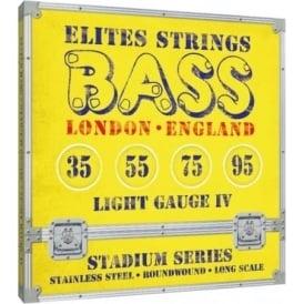 Elites Stadium Series 35-95 Stainless Steel Bass Strings