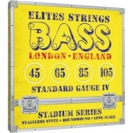 Elites Stadium Series 45-105 Stainless Steel Bass Strings