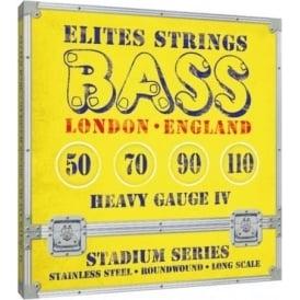 Elites Stadium Series 50-110 Stainless Steel Bass Strings