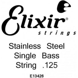 Elixir Nanoweb Stainless Steel Bass Single String .125