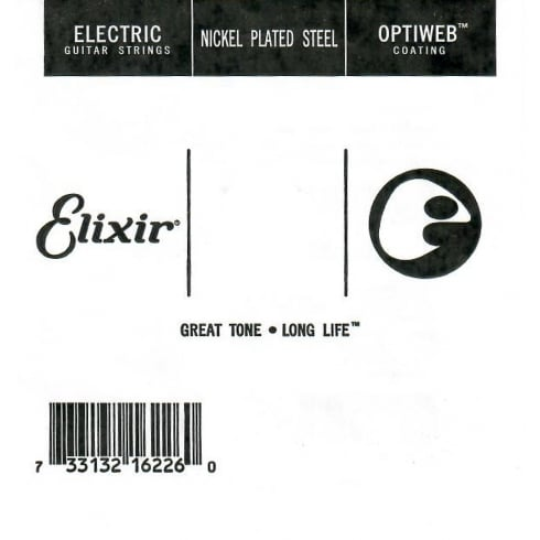 Elixir Optiweb Single Strings (.024-.052)