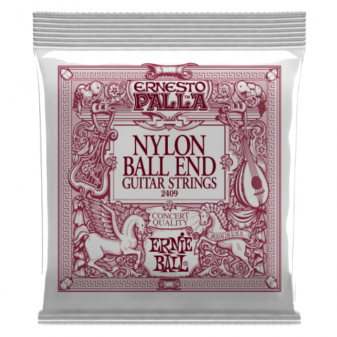 Ernesto Palla Nylon Ball End Black & Gold Classical Guitar Strings 2409