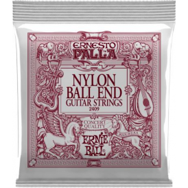 Ernesto Palla Nylon Ball End Black & Gold Classical Guitar Strings 2409
