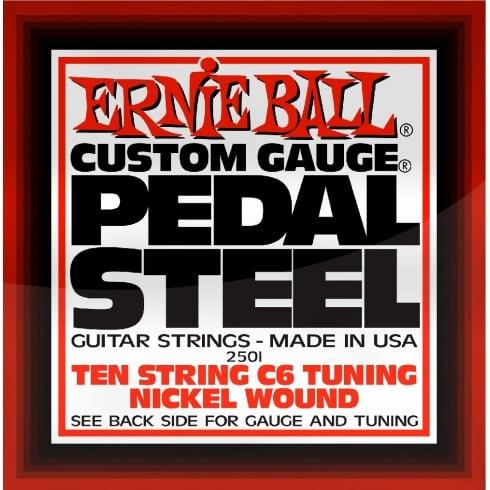 Ernie Ball 10-String C6-Tuning Nickel Wound Pedal Steel Guitar Strings