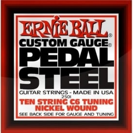 Ernie Ball 10-String C6-Tuning Nickel Wound Pedal Steel Guitar Strings