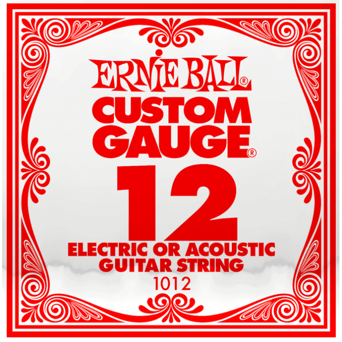 ernie ball 1012 plain steel single guitar string 012 strings from strings direct uk. Black Bedroom Furniture Sets. Home Design Ideas