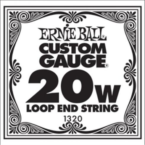 Ernie Ball 1320 Nickel Wound Loop End Single String .020