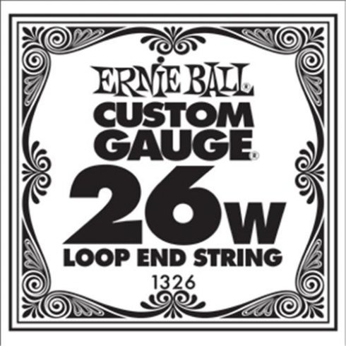 Ernie Ball 1326 Nickel Wound Loop End Single String .026