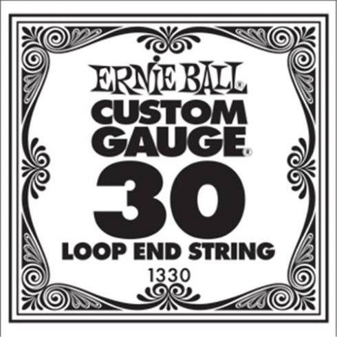 Ernie Ball 1330 Nickel Wound Loop End Single String .030
