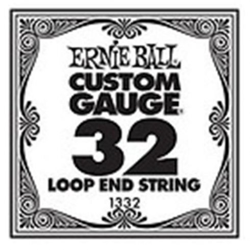 Ernie Ball 1332 Nickel Wound Loop End Single String .032