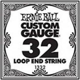 Ernie Ball 1332 Nickel Wound Loop End Single String .032