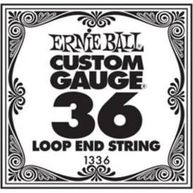 Ernie Ball 1336 Nickel Wound Loop End Single String .036