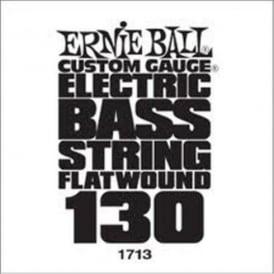 Ernie Ball 1713 Flatwound Chrome Bass Single String .130 Low B