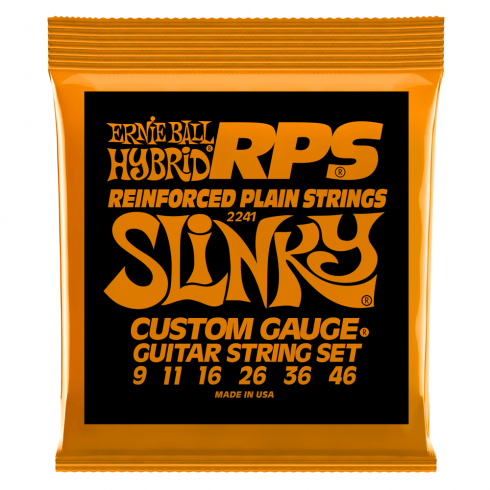 Ernie Ball 2241 Nickel Wound RPS Electric Guitars Strings 9-46 Hybrid Slinky