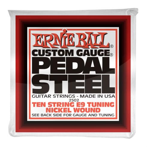 Ernie Ball 2502 Nickel Wound E9 Pedal Steel Strings 13-38 10-String