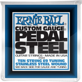 Ernie Ball 2504 Pedal Steel Electric Guitar Strings 10 String E9 Tuning
