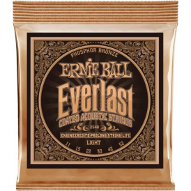 Ernie Ball 2548 Everlast Phosphor Bronze Acoustic Guitar Strings 11-52 Light Gauge