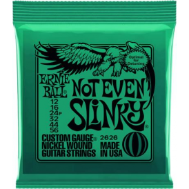 Ernie Ball 2626 Nickel Wound Electric Guitar Strings 12-56 Not Even Slinky