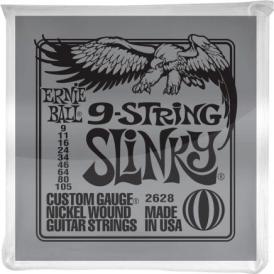 Ernie Ball 2628 9-String Nickel Wound 09-105 Electric Guitar Strings
