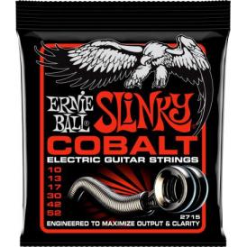 Ernie Ball 2715 Cobalt Electric Guitar Strings 10-52 Skinny Top Heavy Bottom