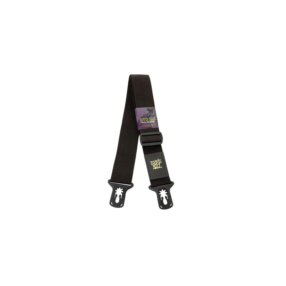 Ernie Ball Poly Lock Locking Guitar Strap No Need For Strap Locks Brand New!