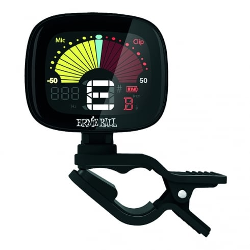 4112 Flextune Clip On Chromatic Tuner for Guitar/Bass/Ukulele/Violin
