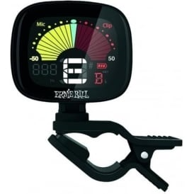 Ernie Ball 4112 Flextune Clip On Chromatic Tuner for Guitar/Bass/Ukulele/Violin