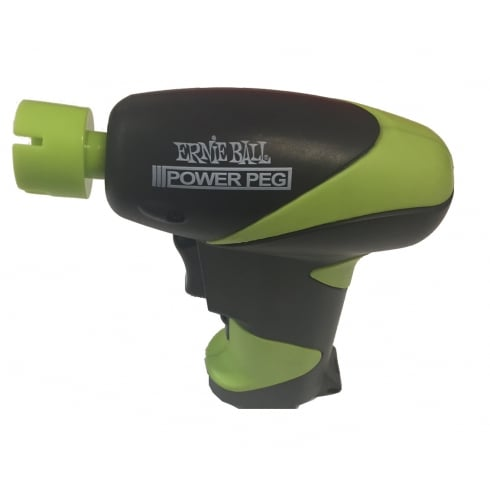 Ernie Ball 4118 Power Peg - Guitar Peg Drill for Rapid String Changes