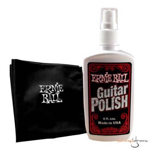 Ernie Ball 4222 Guitar Polish & Cloth Maintenance Kit