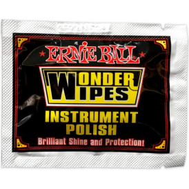 Ernie Ball 4248 Wonder Wipes Instrument Polish Individual Sachet