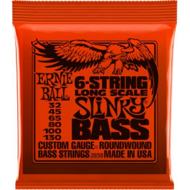 Ernie Ball 6-String Slinky 32-130 Nickel Wound Bass Strings