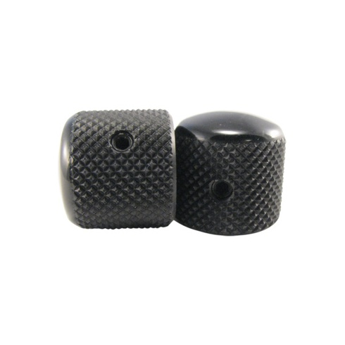 Ernie Ball 6355 Telecaster Knobs Black Aluminium Set of 2