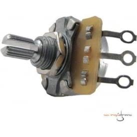 Ernie Ball 6383 Potentiometer 250k Split Shaft for Instruments